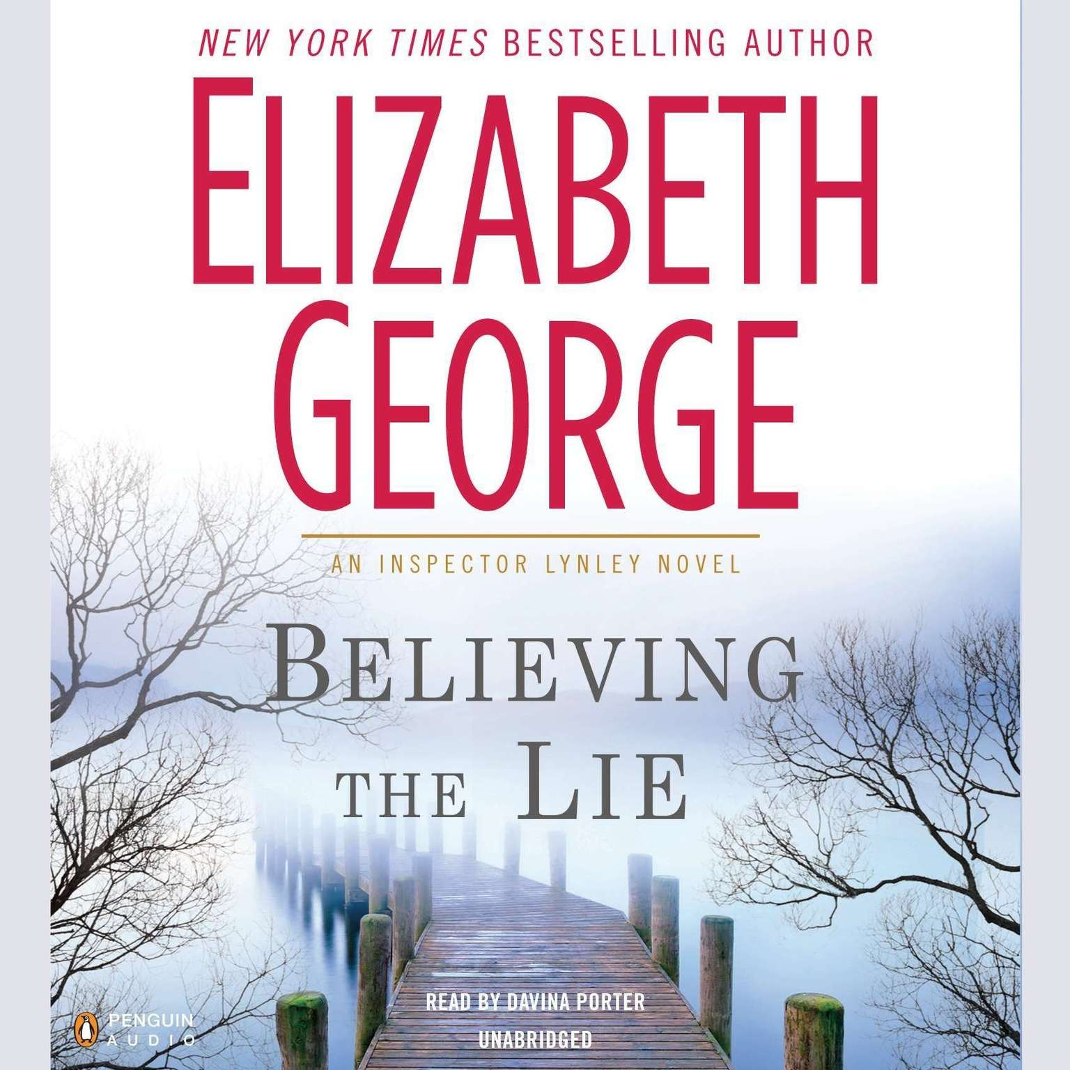 Printable Believing the Lie Audiobook Cover Art