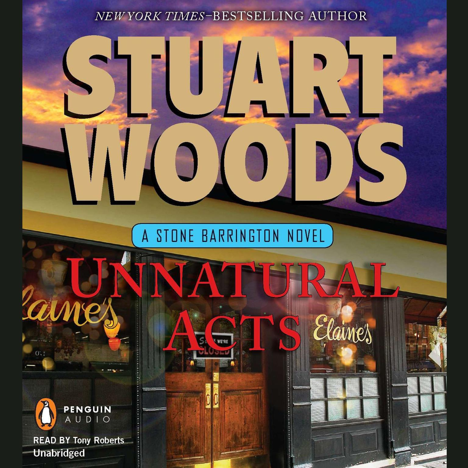 Printable Unnatural Acts: A Stone Barrington Novel Audiobook Cover Art