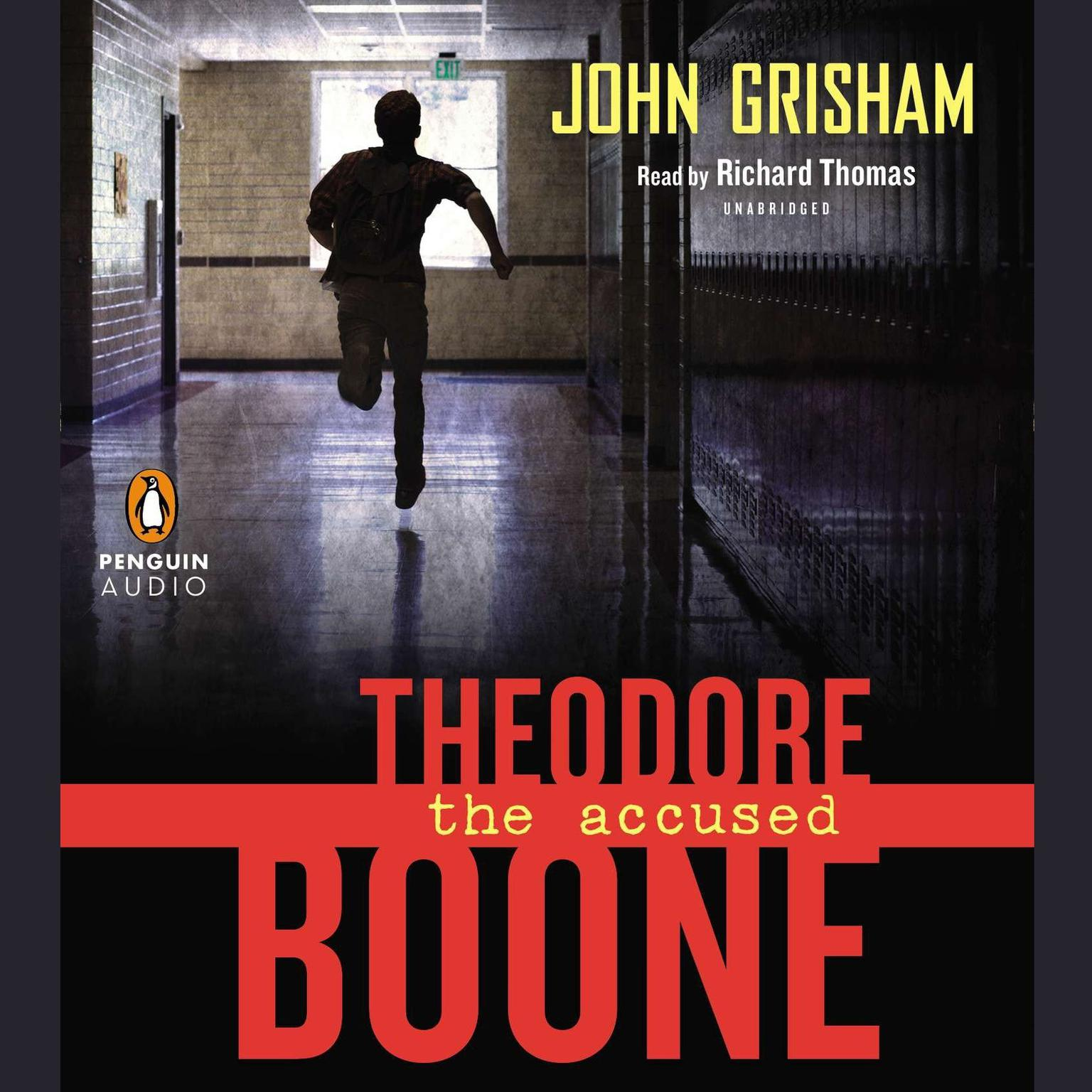 Printable Theodore Boone: the Accused Audiobook Cover Art