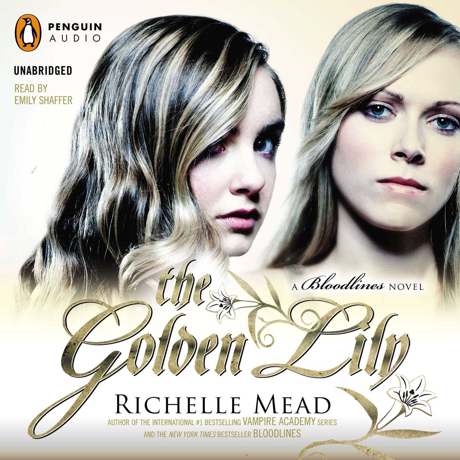 Printable The Golden Lily: A Bloodlines Novel Audiobook Cover Art