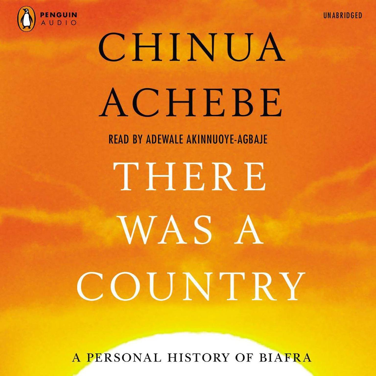 Printable There Was a Country: A Personal History of Biafra Audiobook Cover Art