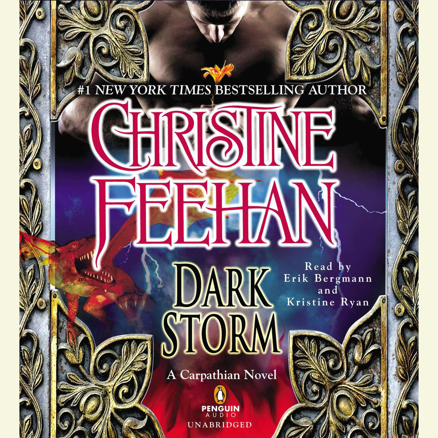 Printable Dark Storm: A Carpathian Novel Audiobook Cover Art