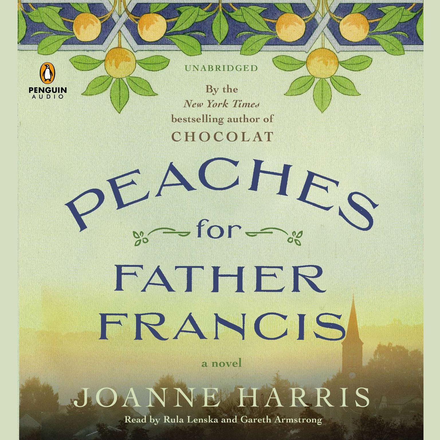 Printable Peaches for Father Francis Audiobook Cover Art