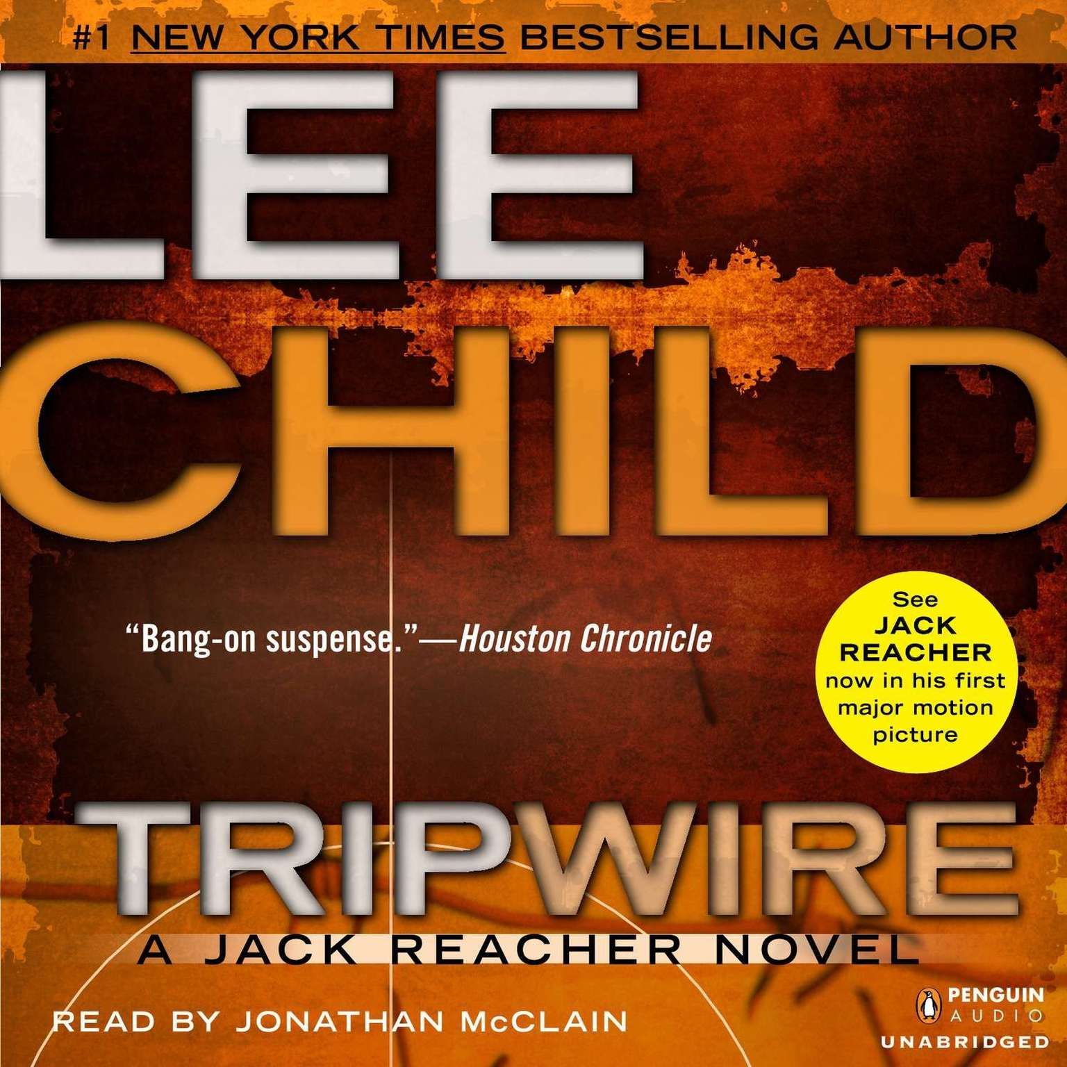 Printable Tripwire: A Jack Reacher Novel Audiobook Cover Art