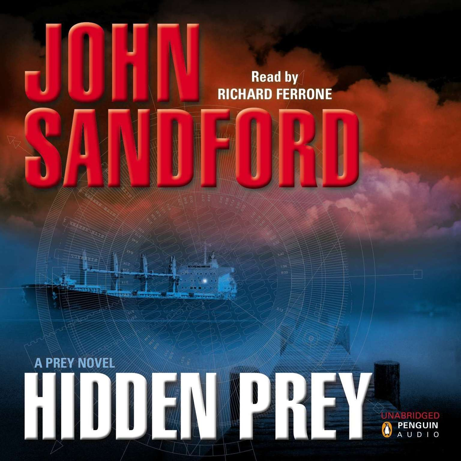 Printable Hidden Prey Audiobook Cover Art