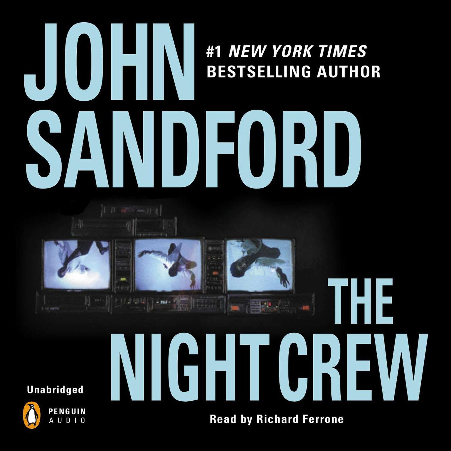 Printable The Night Crew Audiobook Cover Art