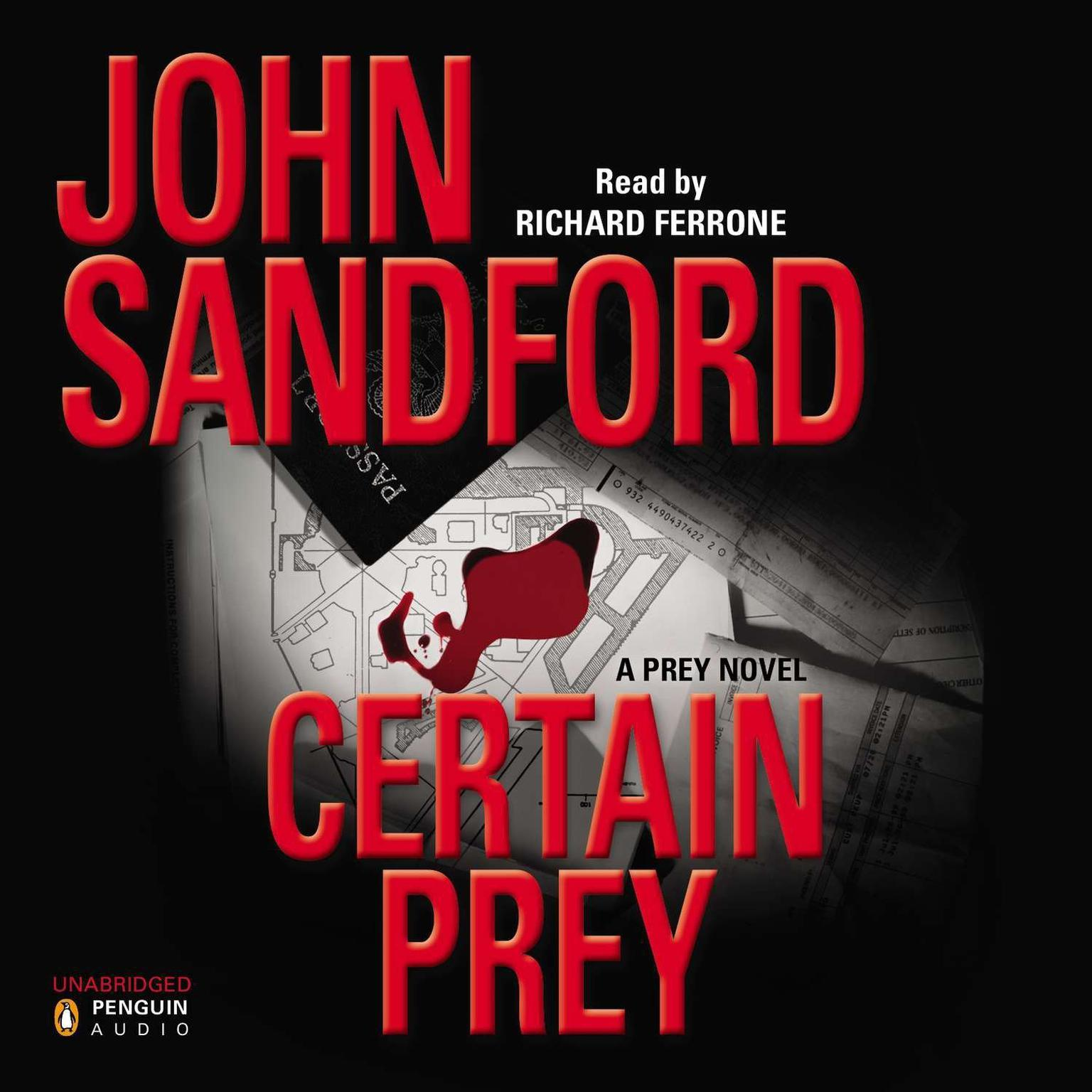 Printable Certain Prey Audiobook Cover Art