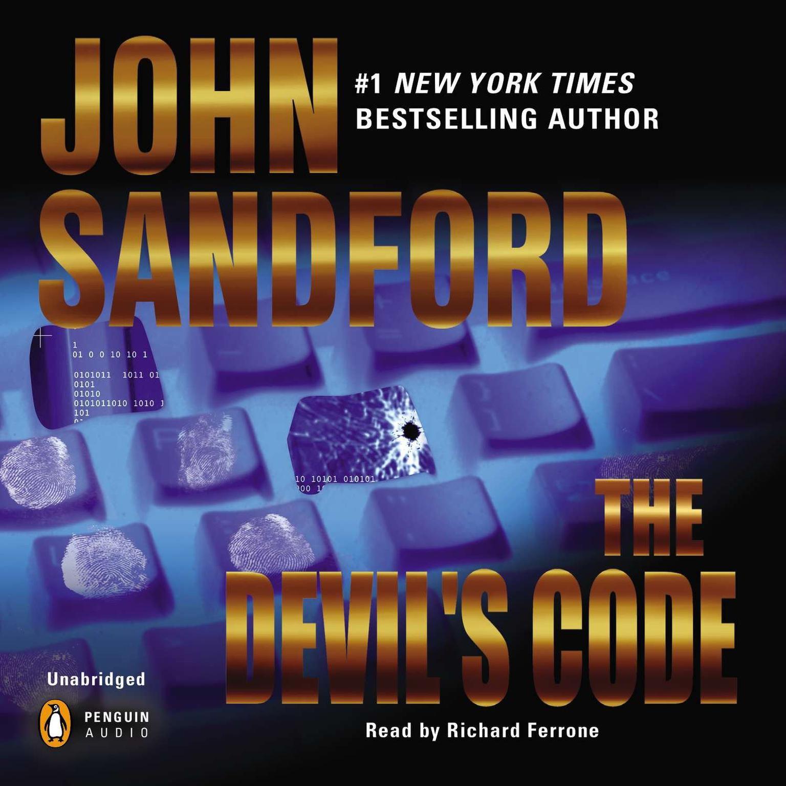 Printable The Devil's Code Audiobook Cover Art