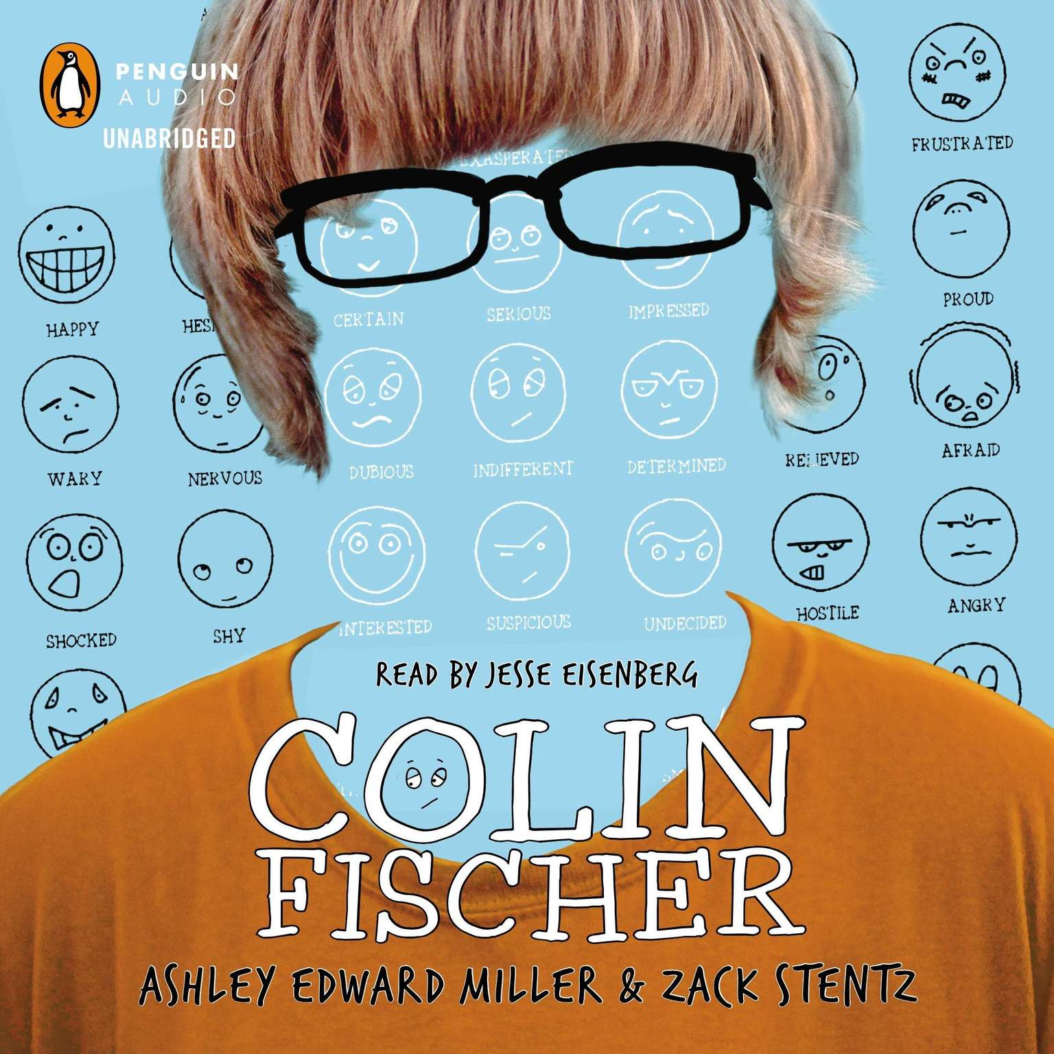 Printable Colin Fischer Audiobook Cover Art