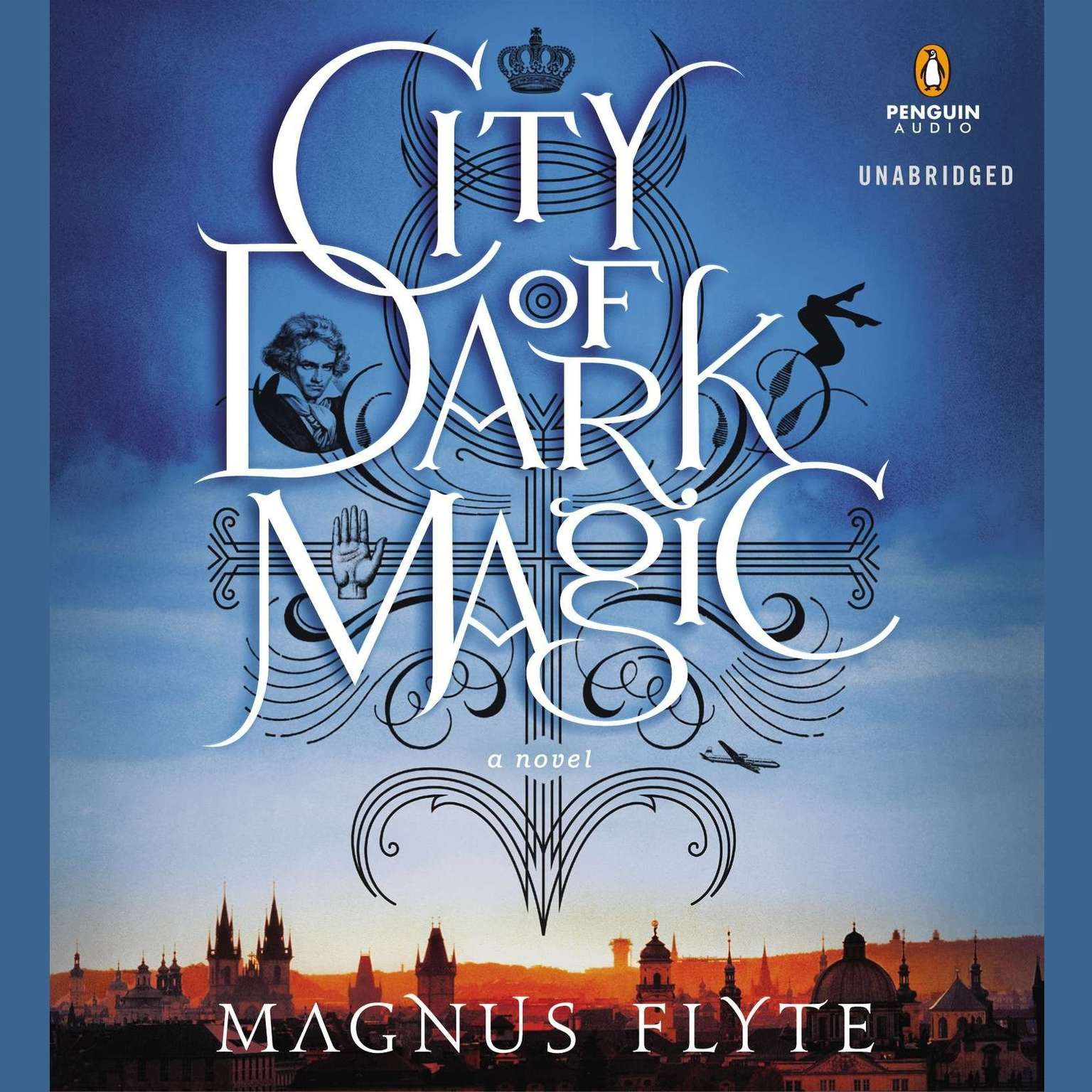 Printable City of Dark Magic: A Novel Audiobook Cover Art