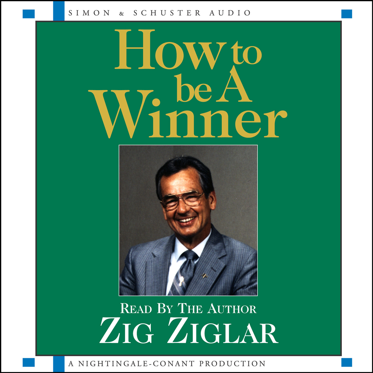 Printable How to Be a Winner Audiobook Cover Art
