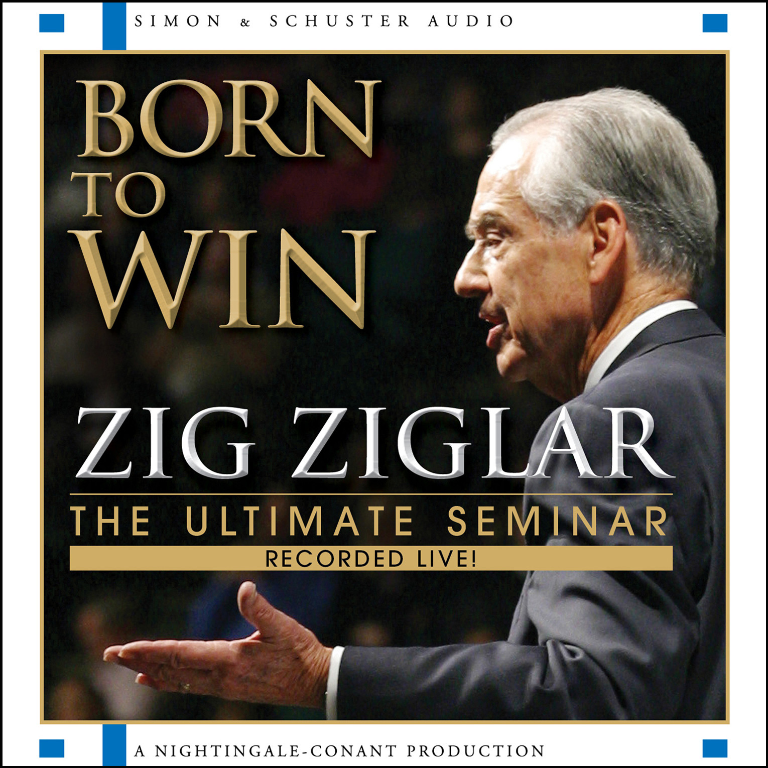 Printable Born to Win: The Ultimate Seminar Audiobook Cover Art