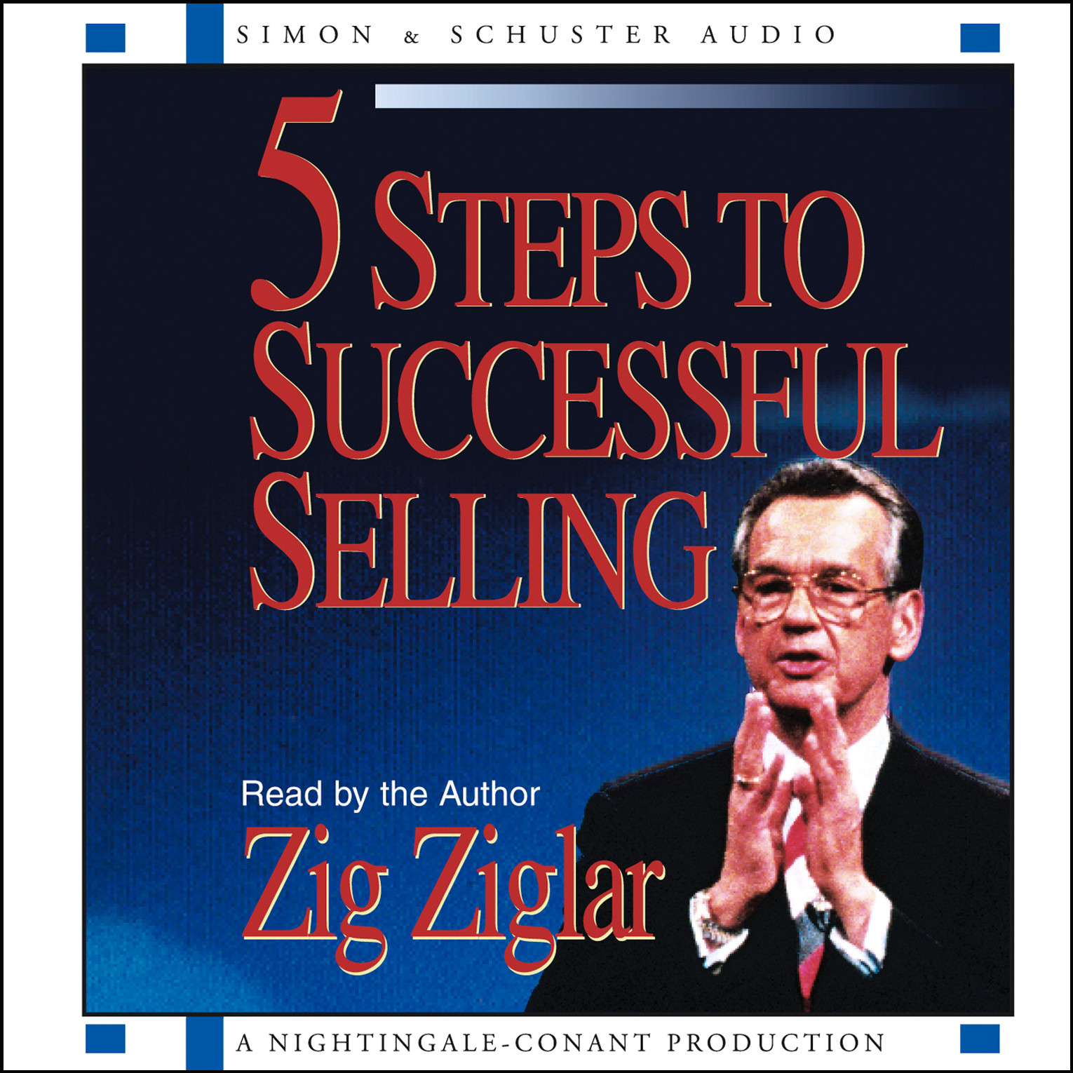 Printable 5 Steps to Successful Selling Audiobook Cover Art
