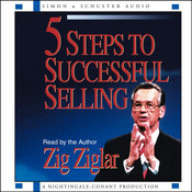 5 Steps to Successful Selling Audiobook, by Zig Ziglar