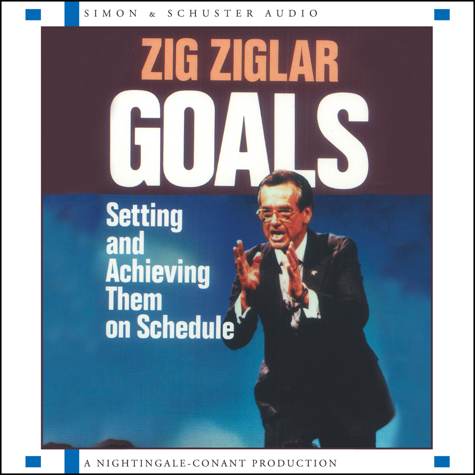 Printable Goals: Setting and Achieving Them on Schedule Audiobook Cover Art