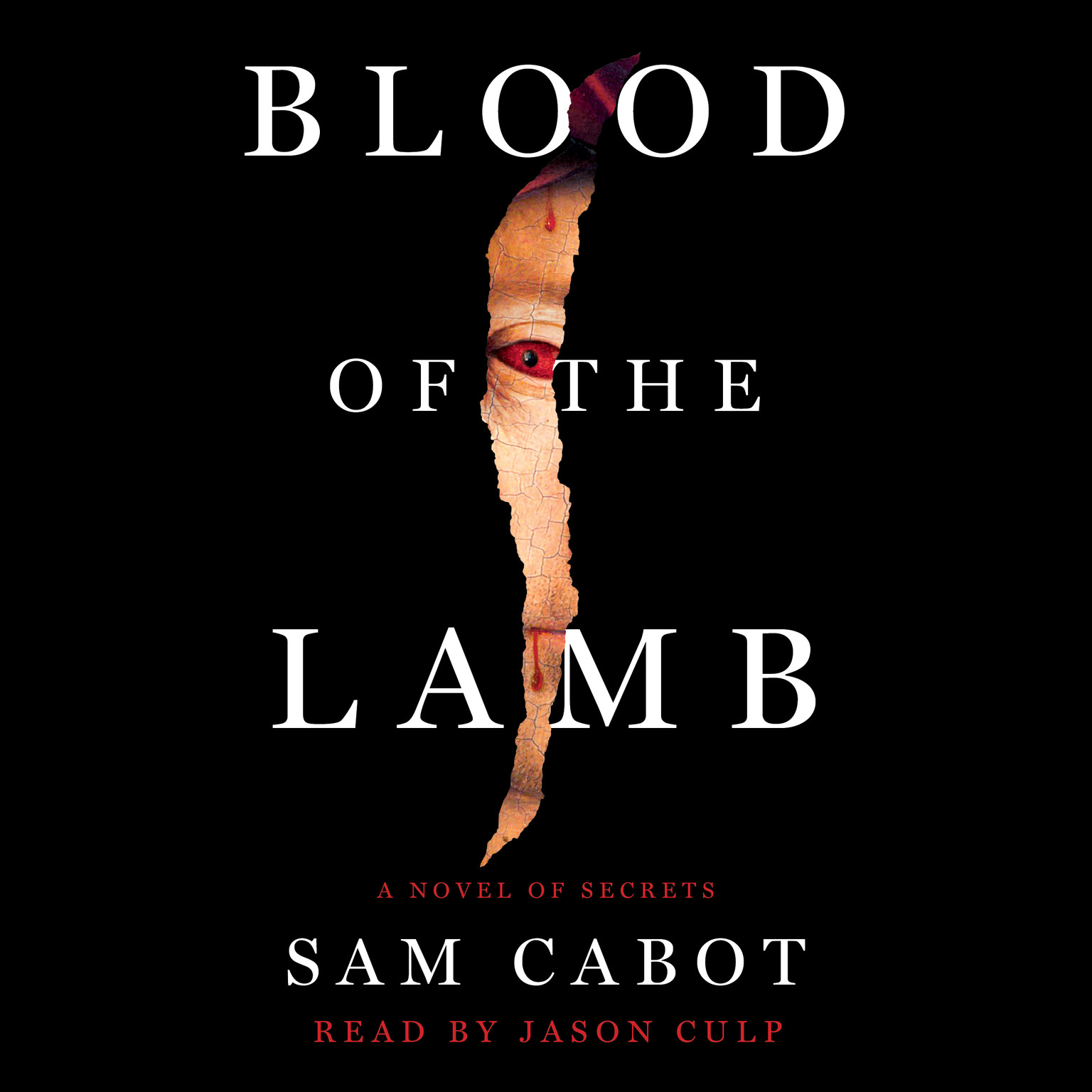 Printable The Blood of the Lamb: A Novel of Secrets Audiobook Cover Art