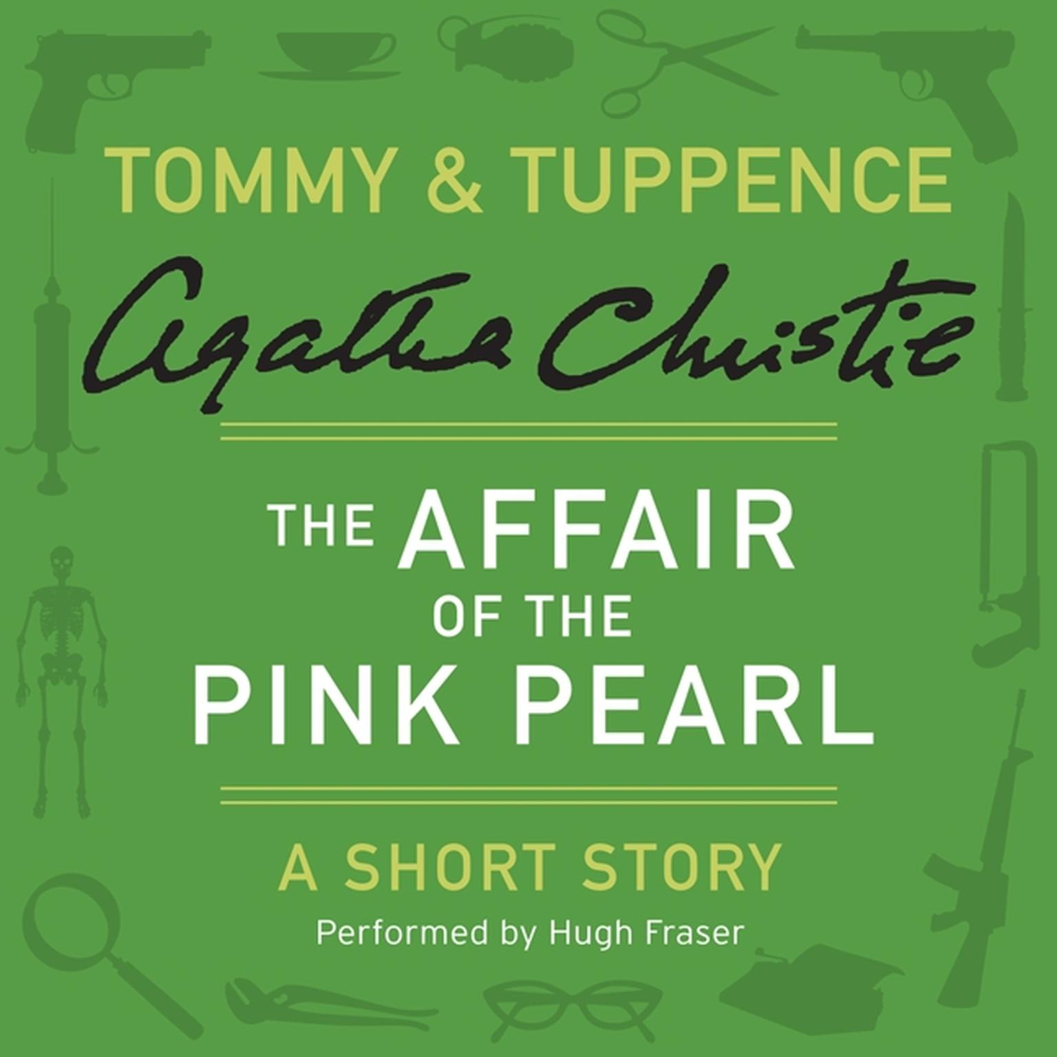 Printable The Affair of the Pink Pearl: A Tommy & Tuppence Short Story Audiobook Cover Art