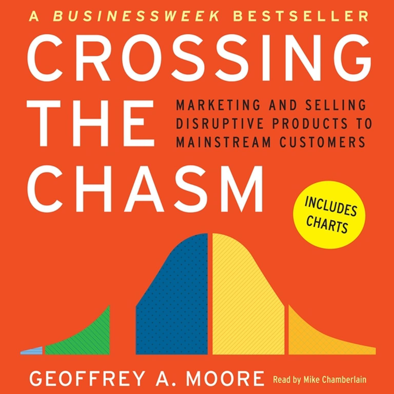 Printable Crossing the Chasm: Marketing and Selling Disruptive Products to Mainstream Customers Audiobook Cover Art
