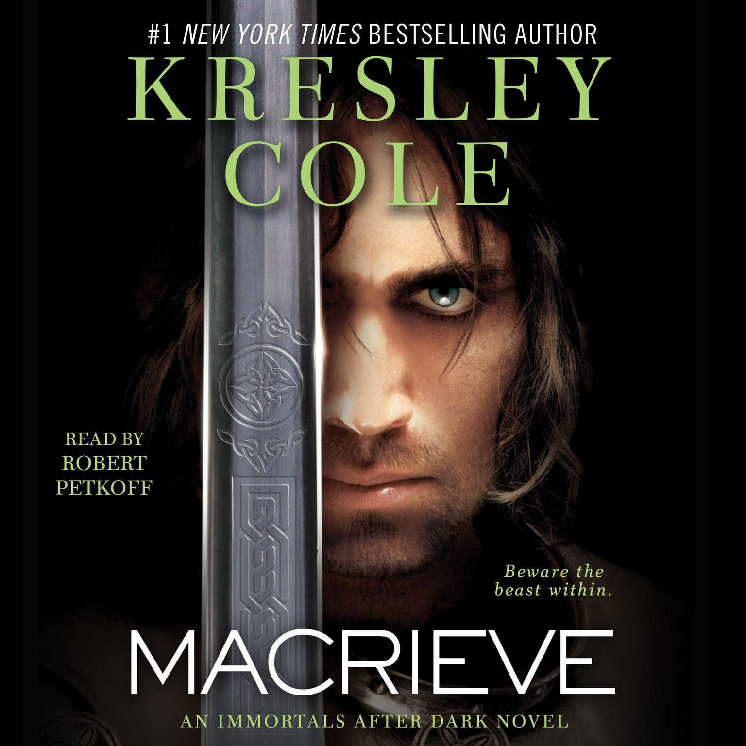 Printable MacRieve Audiobook Cover Art