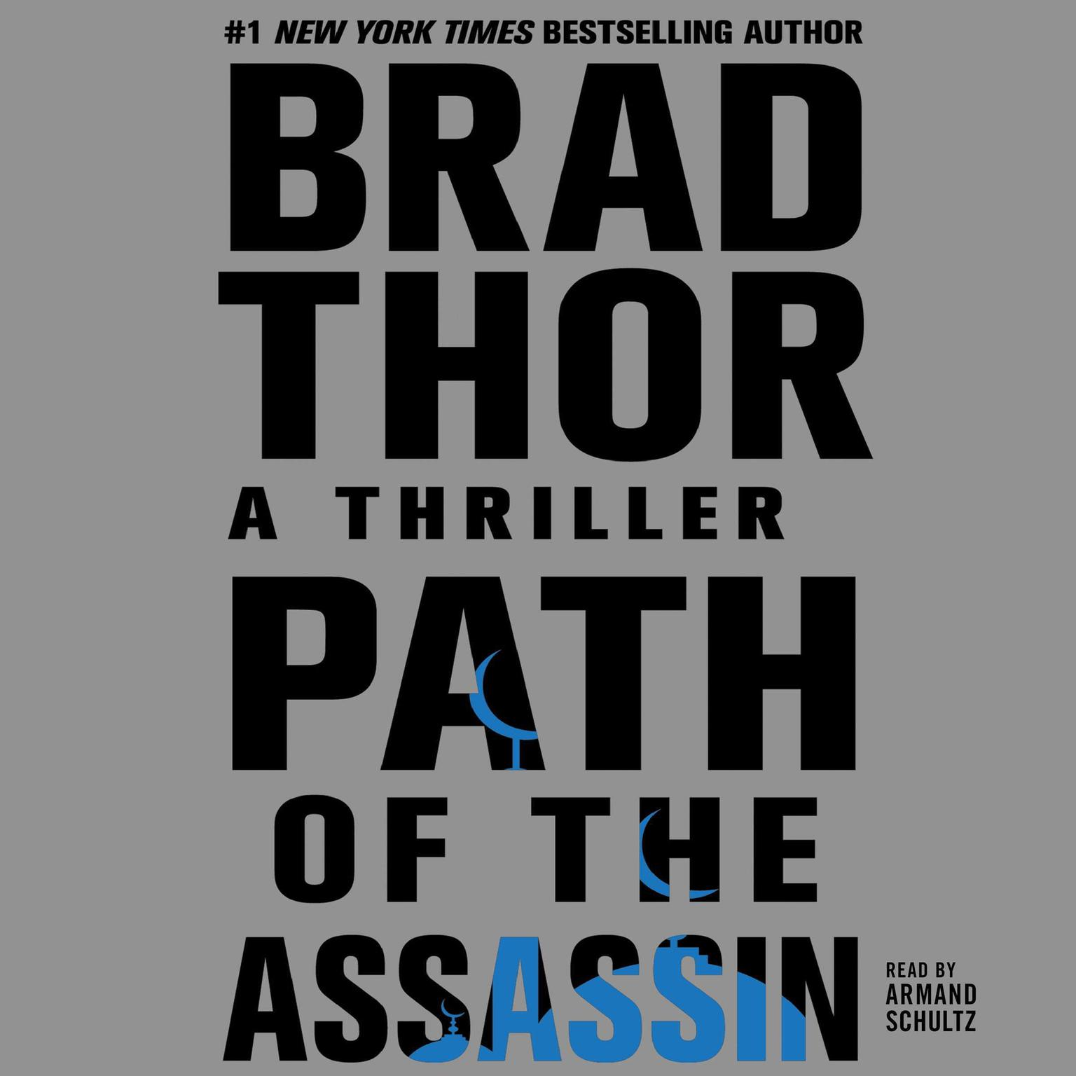 Printable Path of the Assassin: A Thriller Audiobook Cover Art