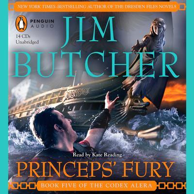 Princeps Fury: Book Five of the Codex Alera Audiobook, by Jim Butcher