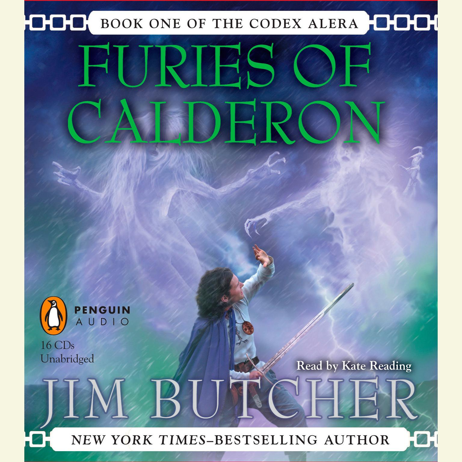 Printable Furies of Calderon: Book One of the Codex Alera Audiobook Cover Art