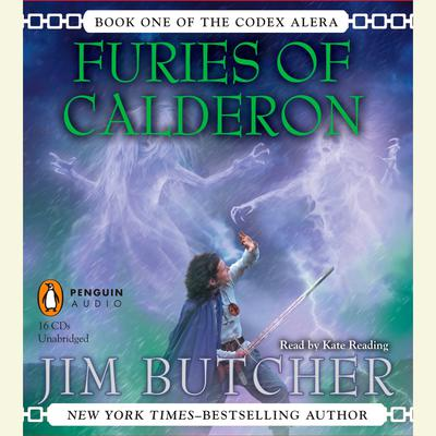 Furies of Calderon: Book One of the Codex Alera Audiobook, by Jim Butcher