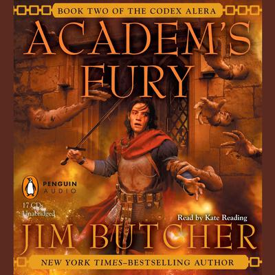 Academs Fury: Book Two of the Codex Alera Audiobook, by Jim Butcher