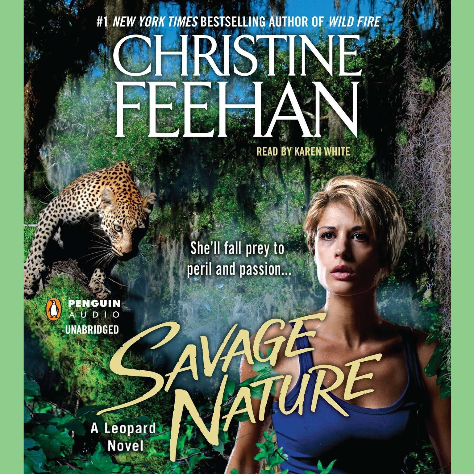 Printable Savage Nature Audiobook Cover Art