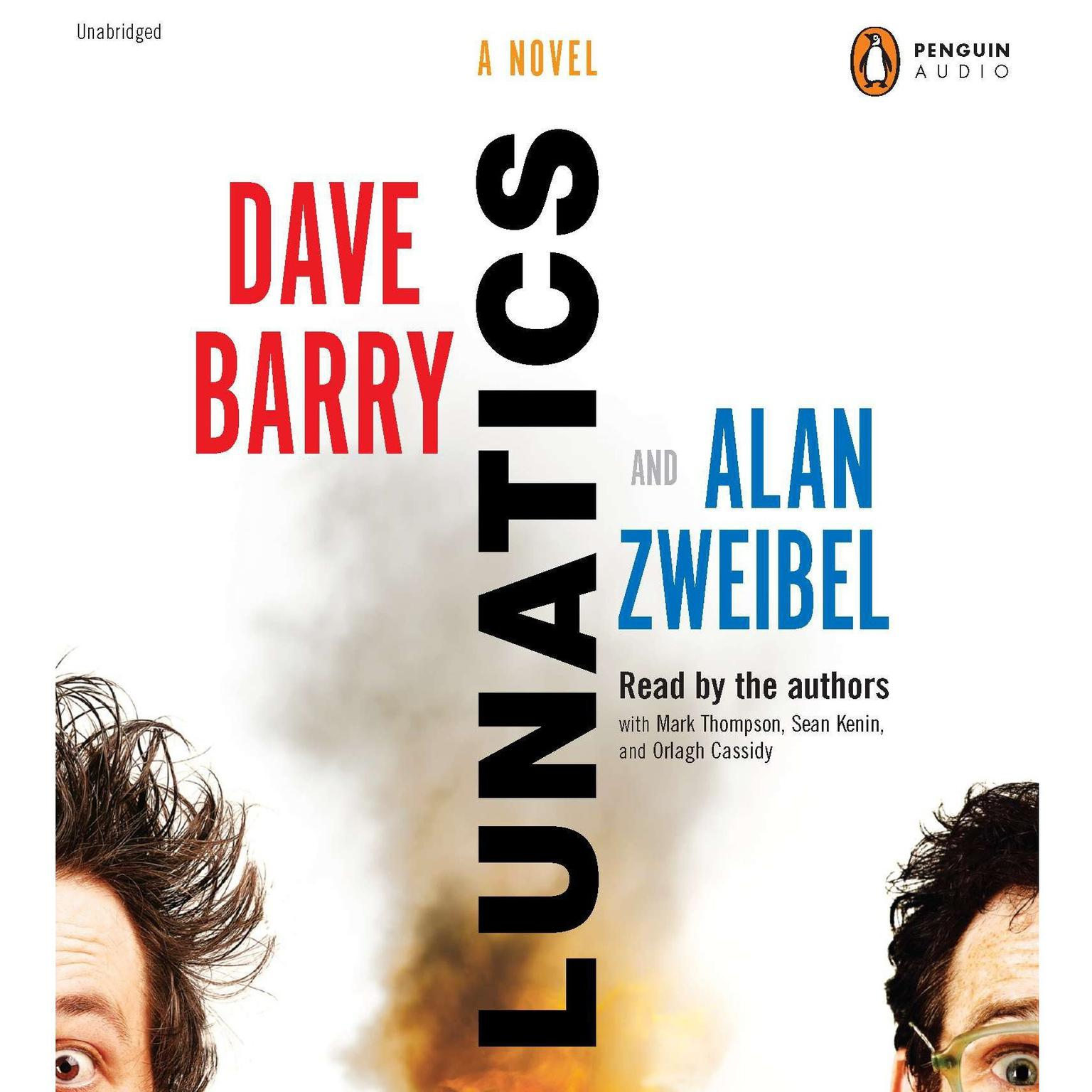 Printable Lunatics: A Novel Audiobook Cover Art