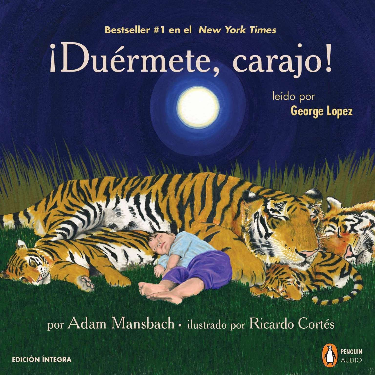 Printable ¡ Duérmete, carajo! Audiobook Cover Art