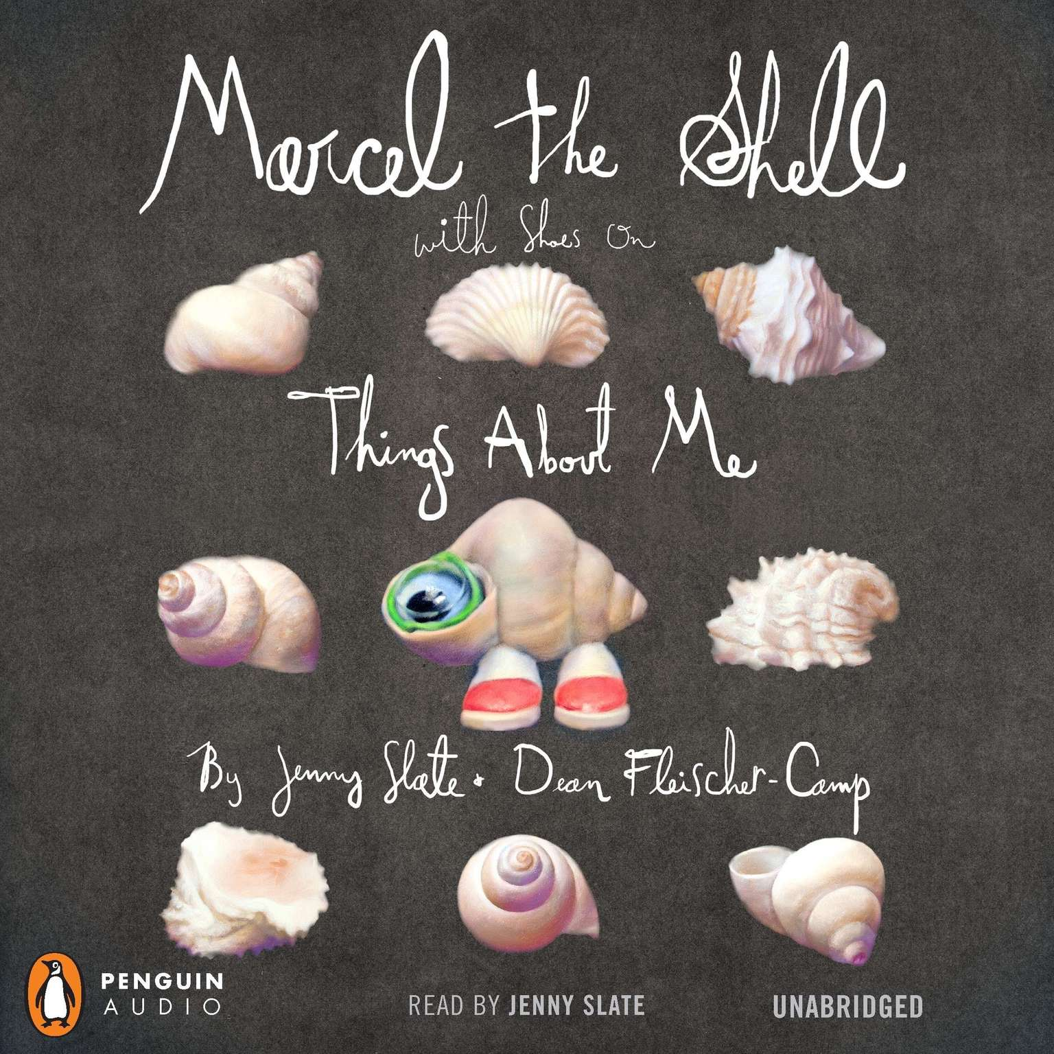 Printable Marcel the Shell with Shoes On: Things About Me Audiobook Cover Art