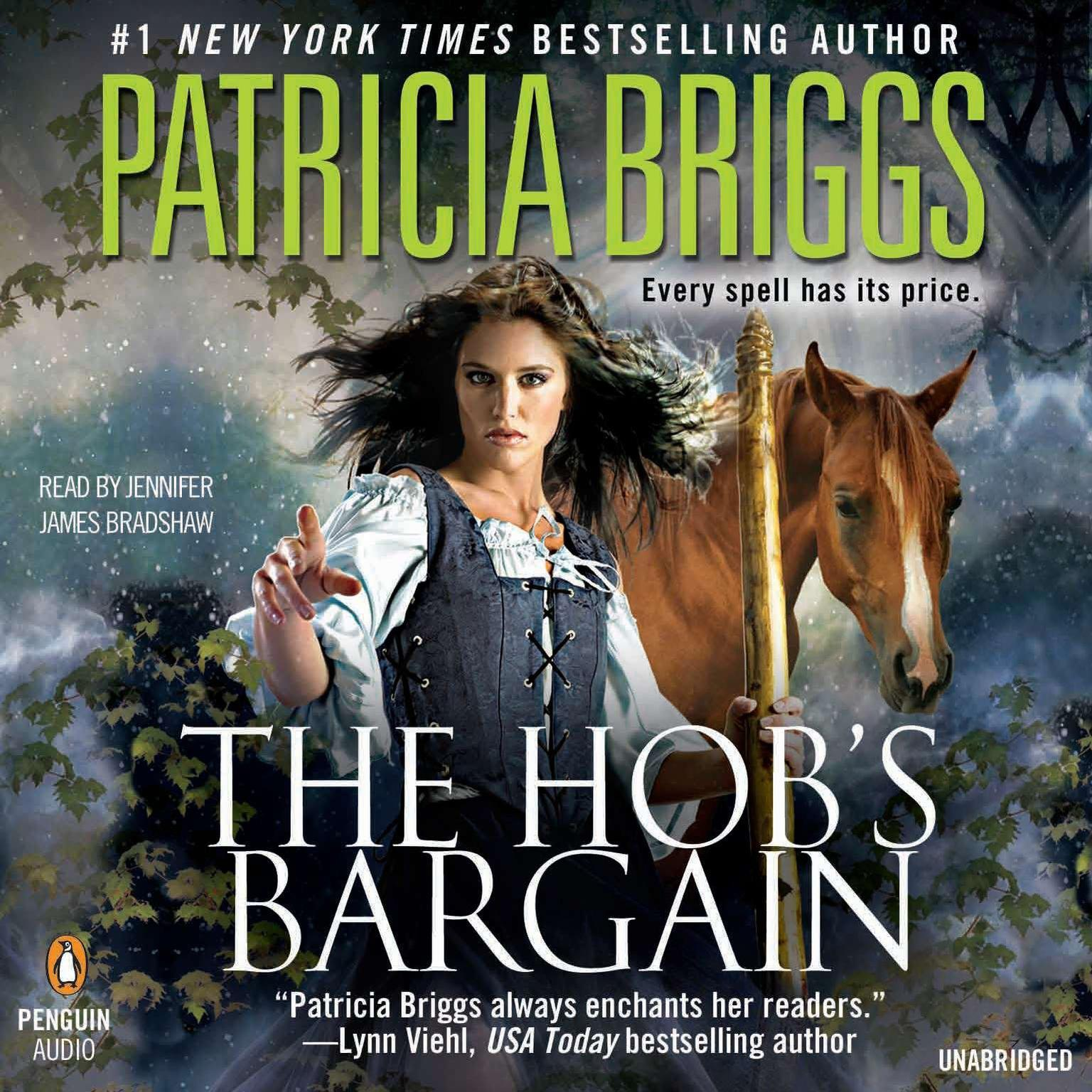 Printable The Hob's Bargain Audiobook Cover Art