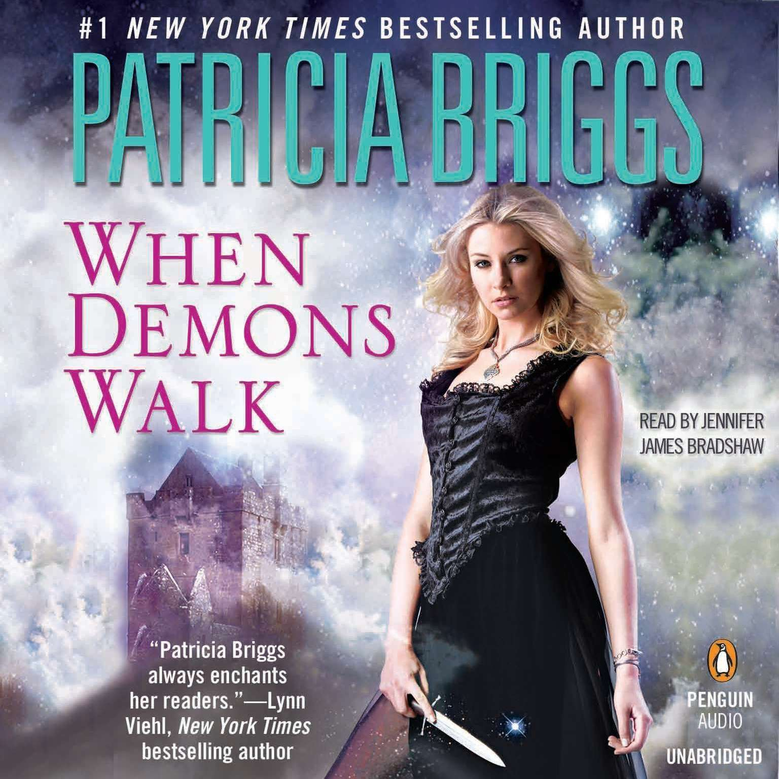 Printable When Demons Walk Audiobook Cover Art