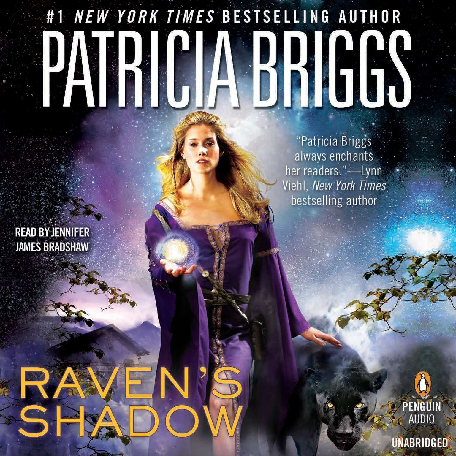 Printable Raven's Shadow Audiobook Cover Art