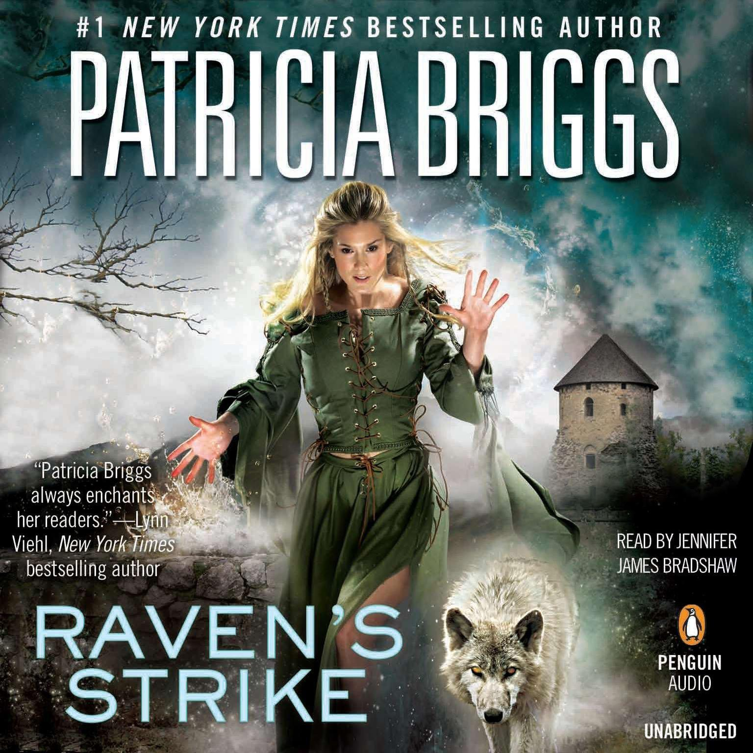 Printable Raven's Strike Audiobook Cover Art