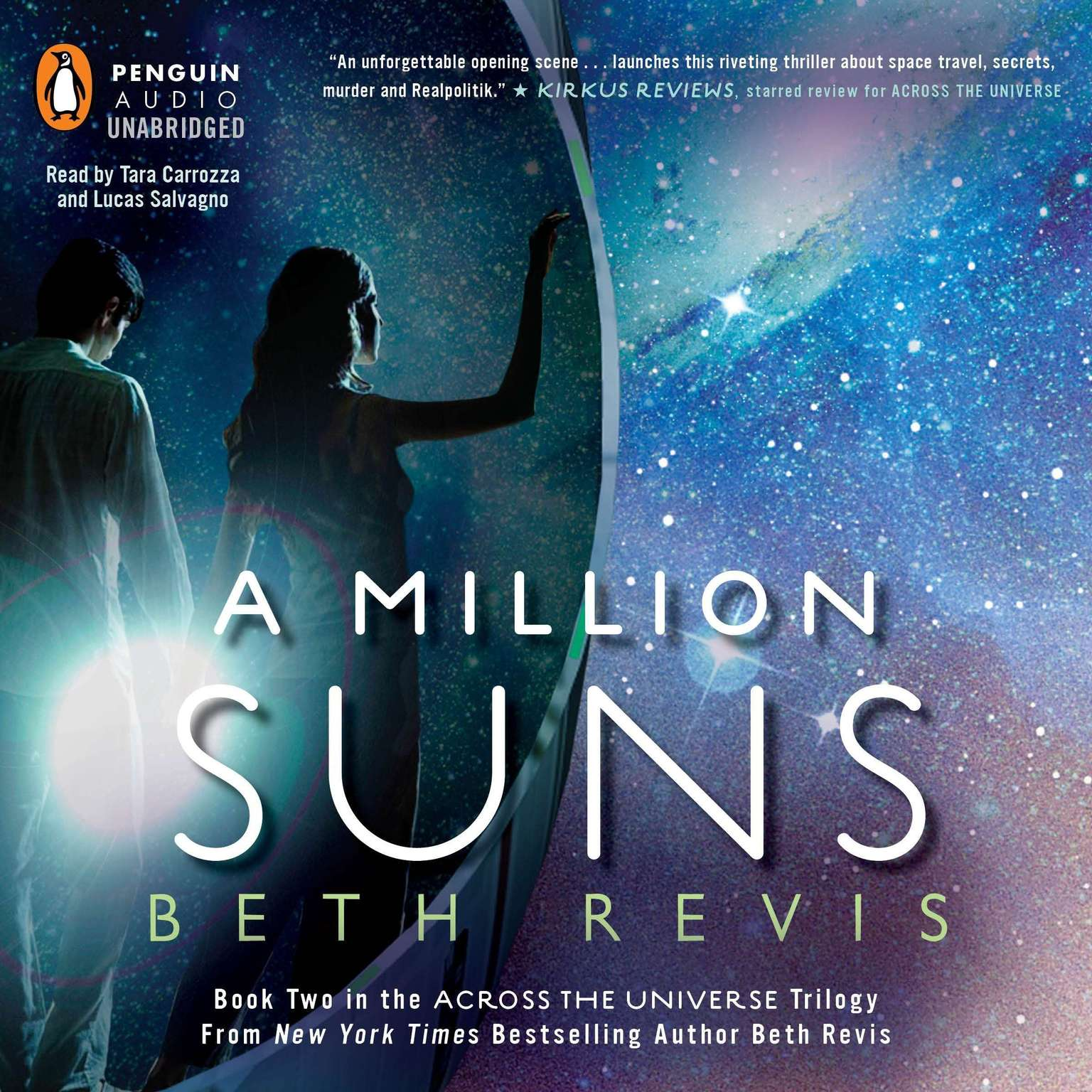 Printable A Million Suns: An Across the Universe Novel Audiobook Cover Art