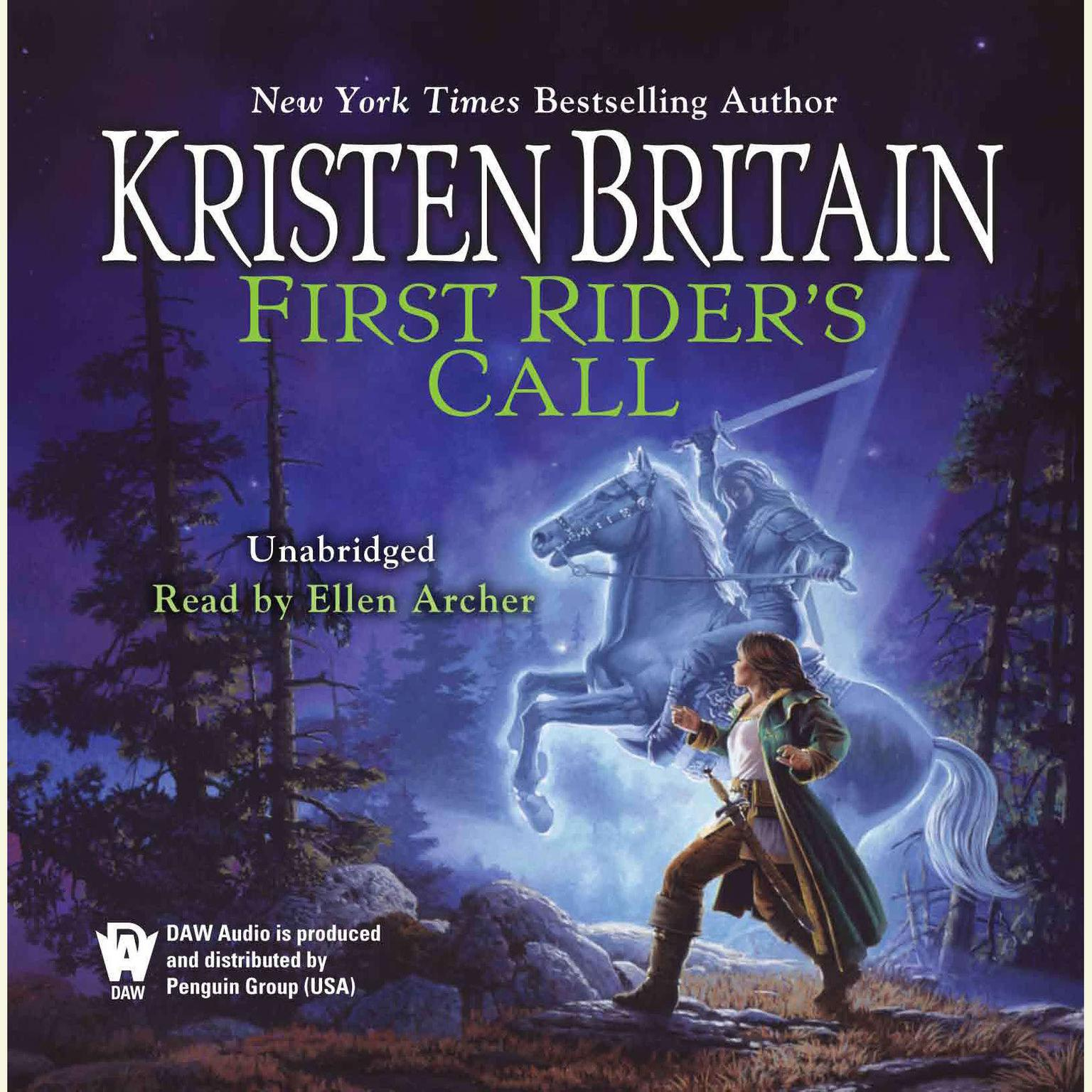 Printable First Rider's Call: Book Two of Green Rider Audiobook Cover Art