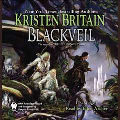 Blackveil: Book Four of Green Rider Audiobook, by Kristen Britain