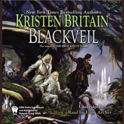 Blackveil: Book Four of Green Rider Audiobook, by