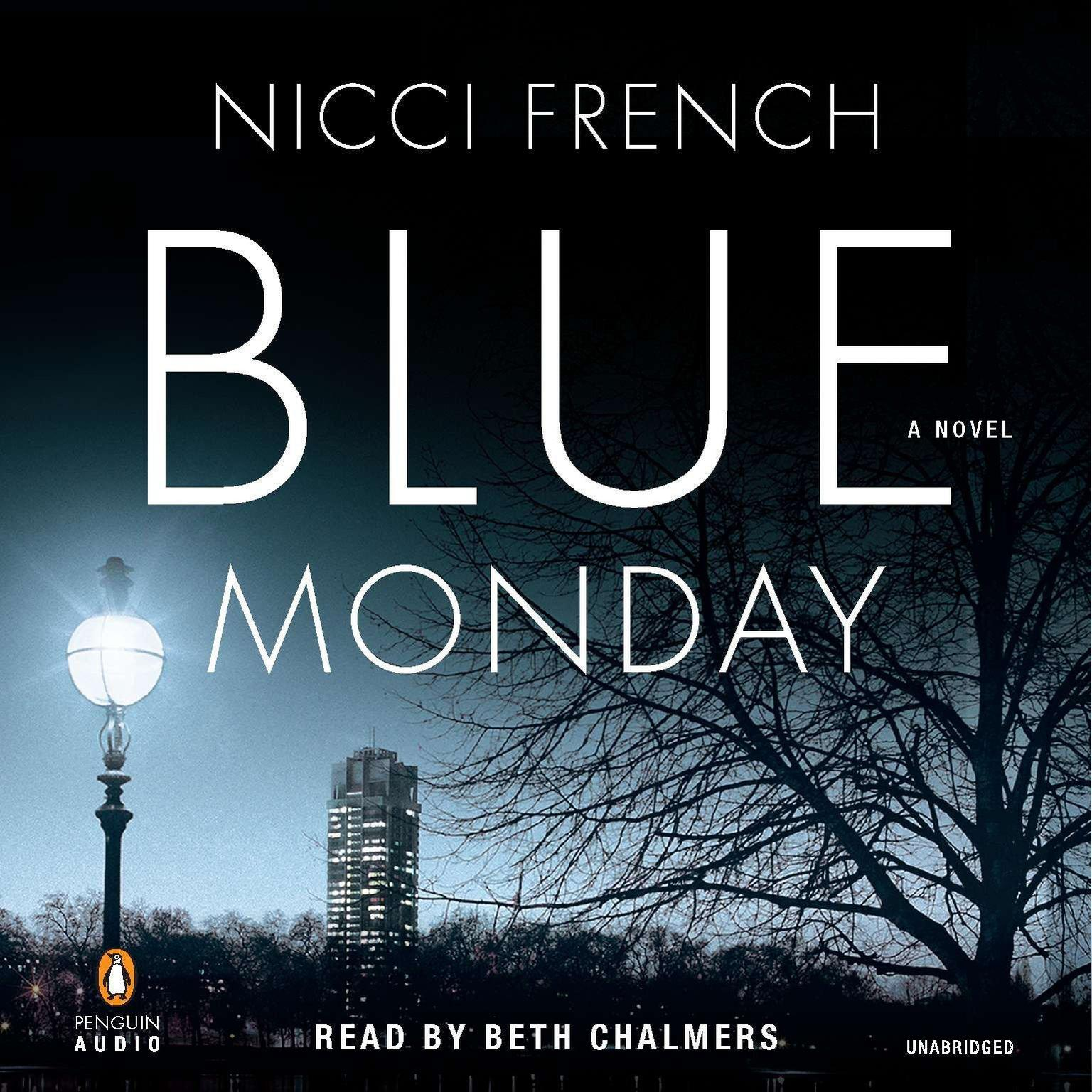 Printable Blue Monday: A Novel Audiobook Cover Art