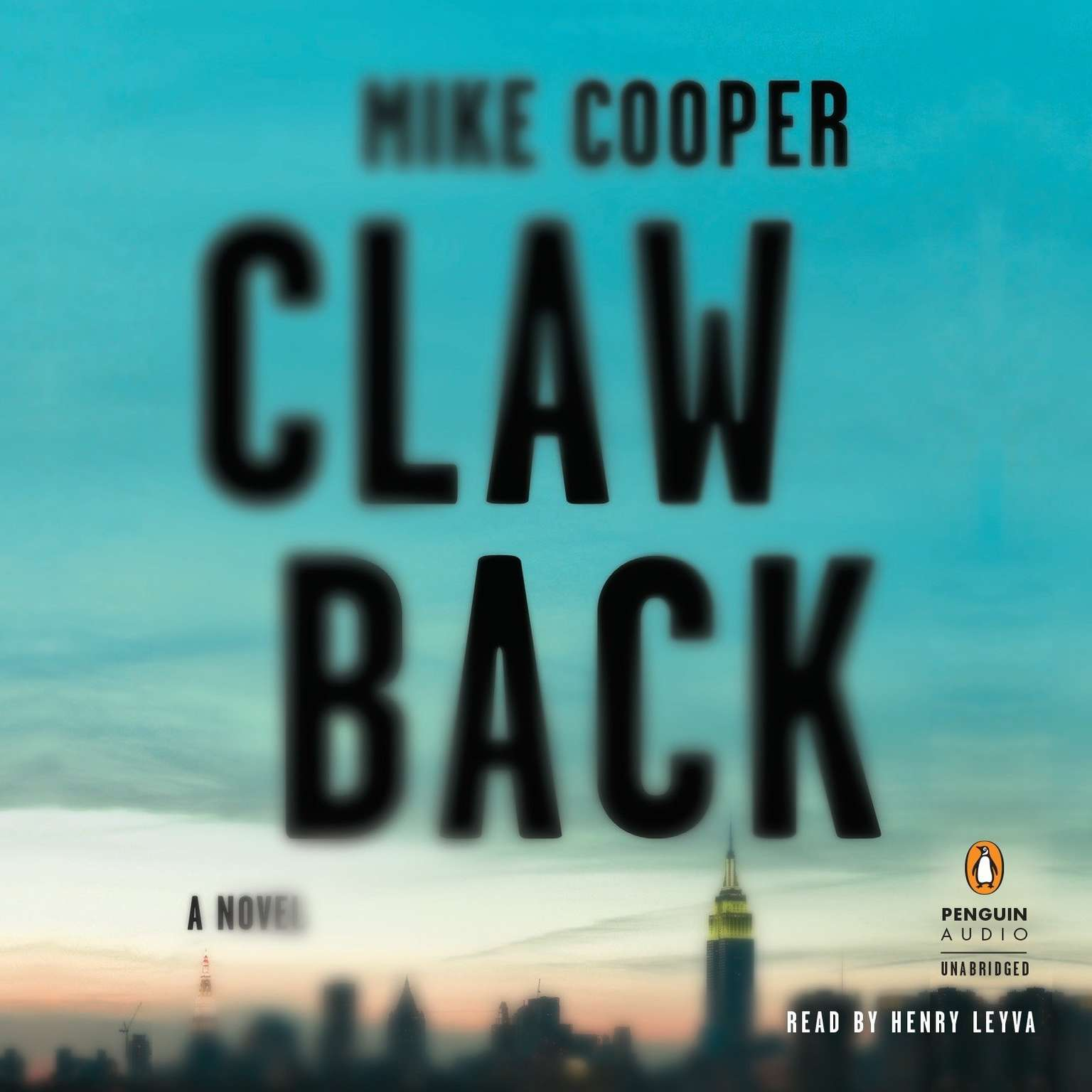 Printable Clawback Audiobook Cover Art