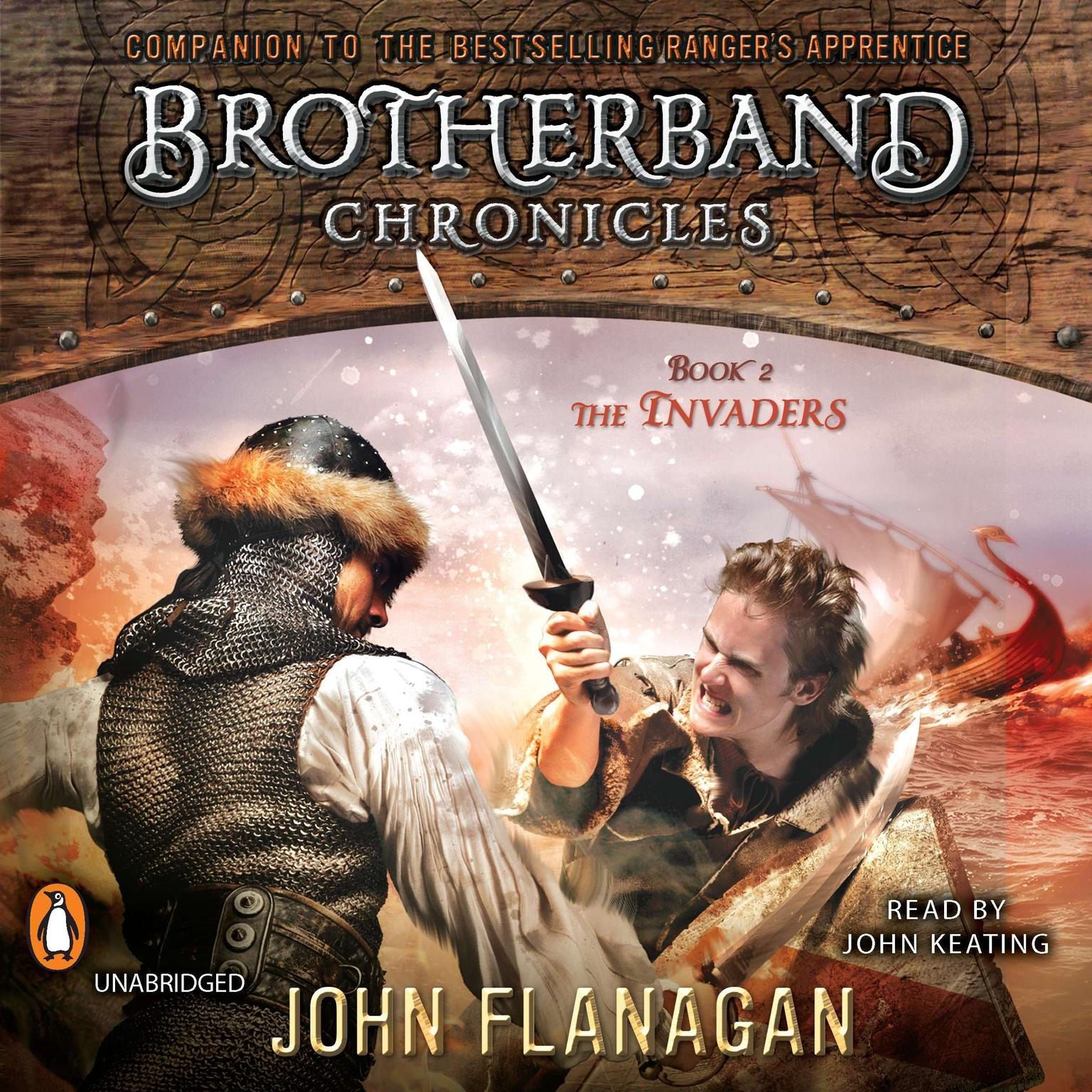 Printable The Invaders: Brotherband Chronicles, Book 2 Audiobook Cover Art