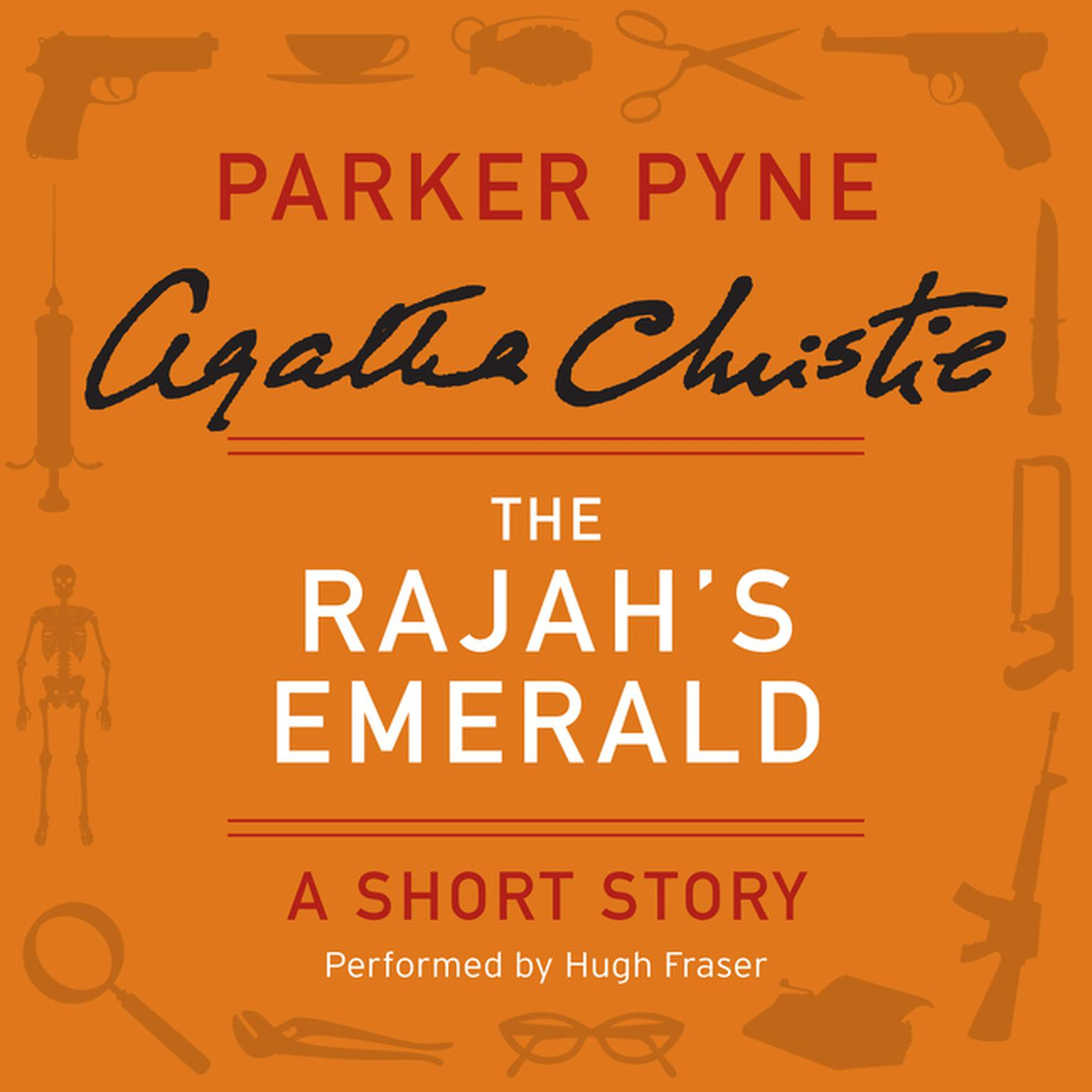 Printable The Rajah's Emerald: A Parker Pyne Short Story Audiobook Cover Art
