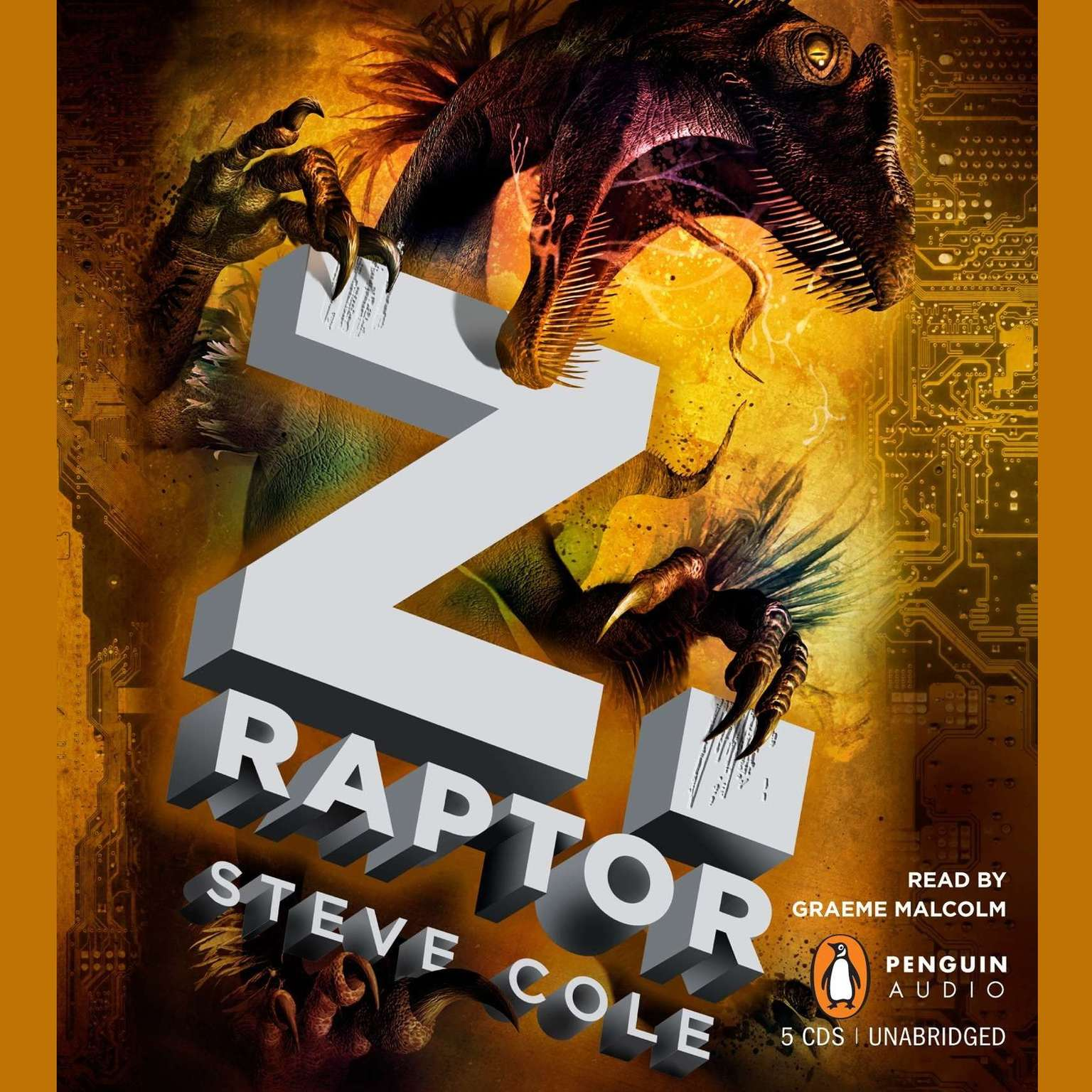 Printable Z. Raptor Audiobook Cover Art
