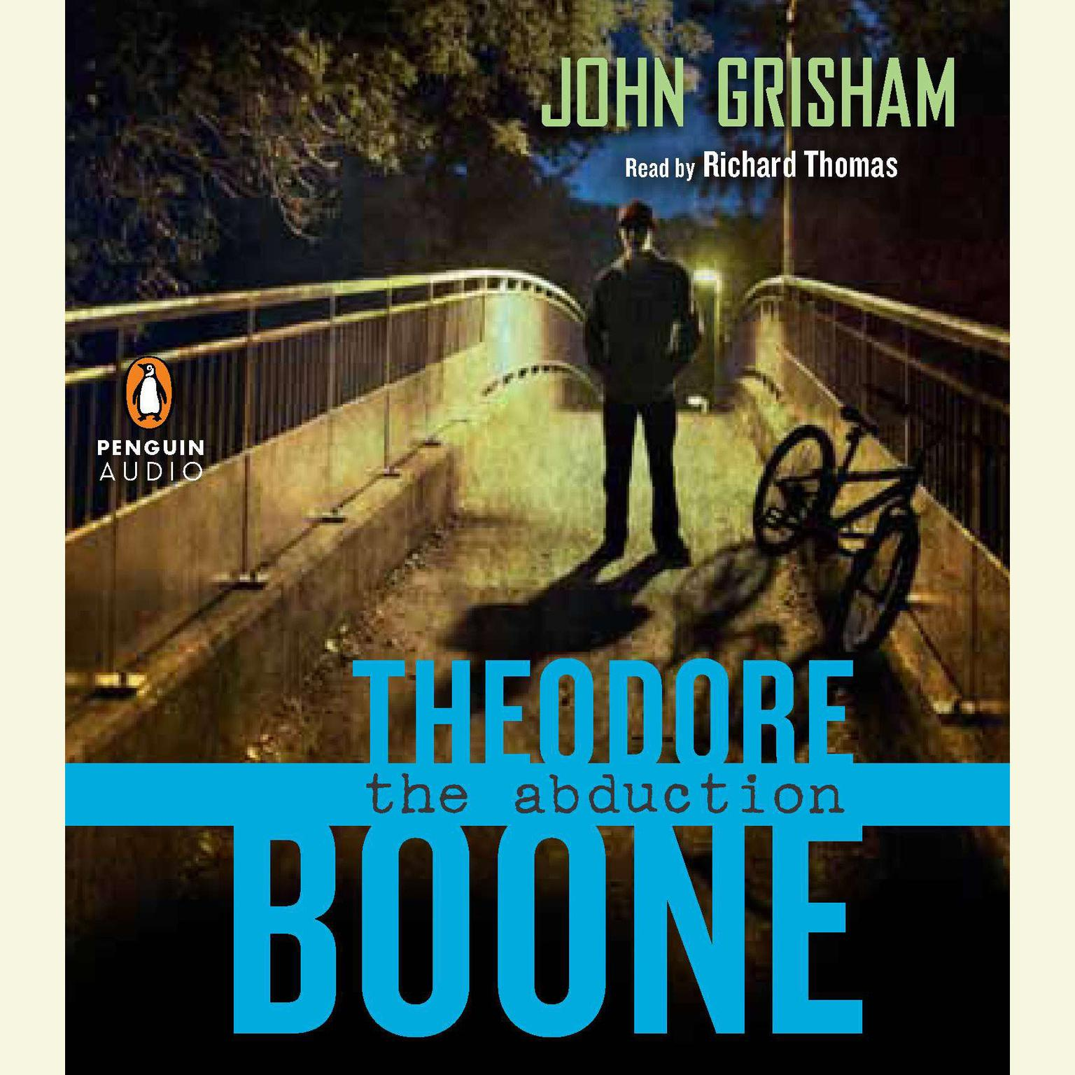 Printable Theodore Boone: the Abduction Audiobook Cover Art