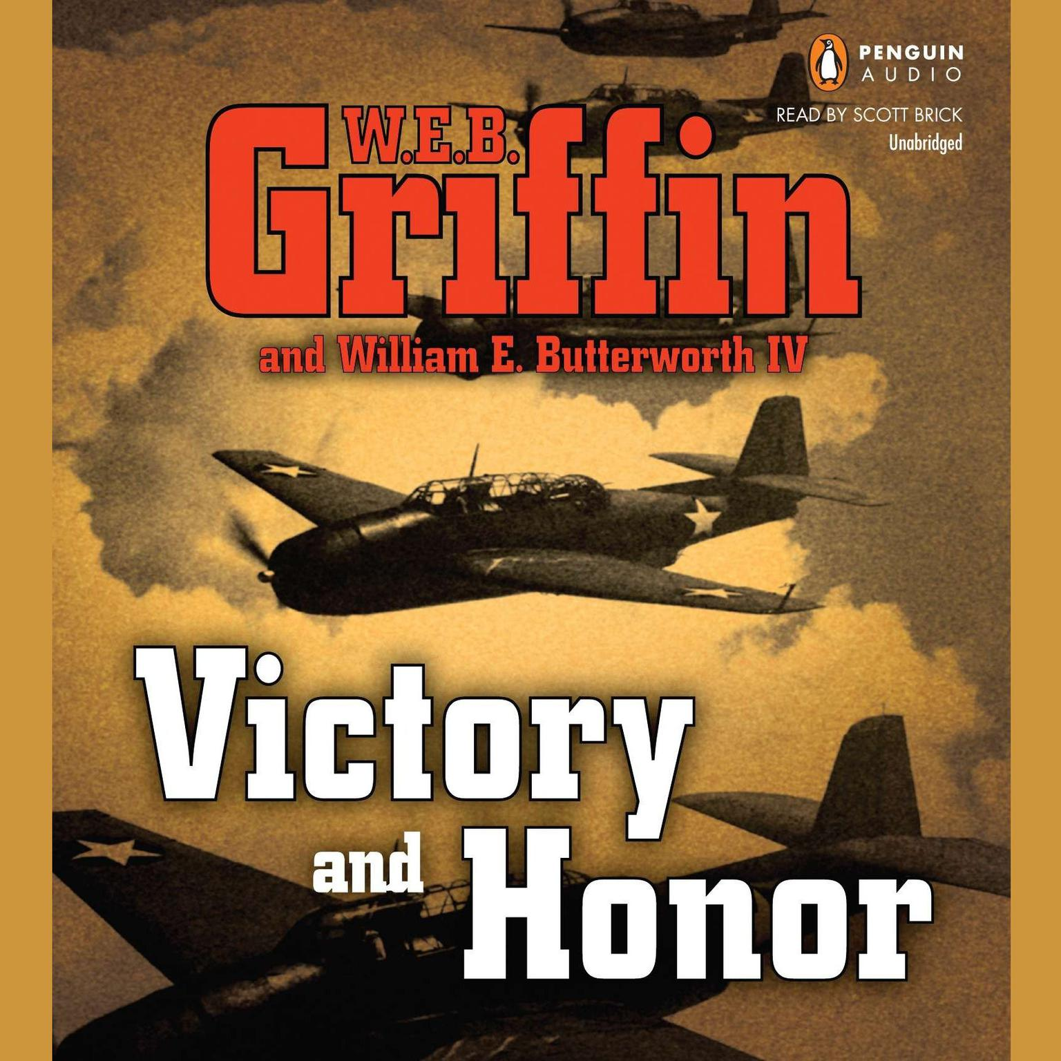Printable Victory and Honor Audiobook Cover Art