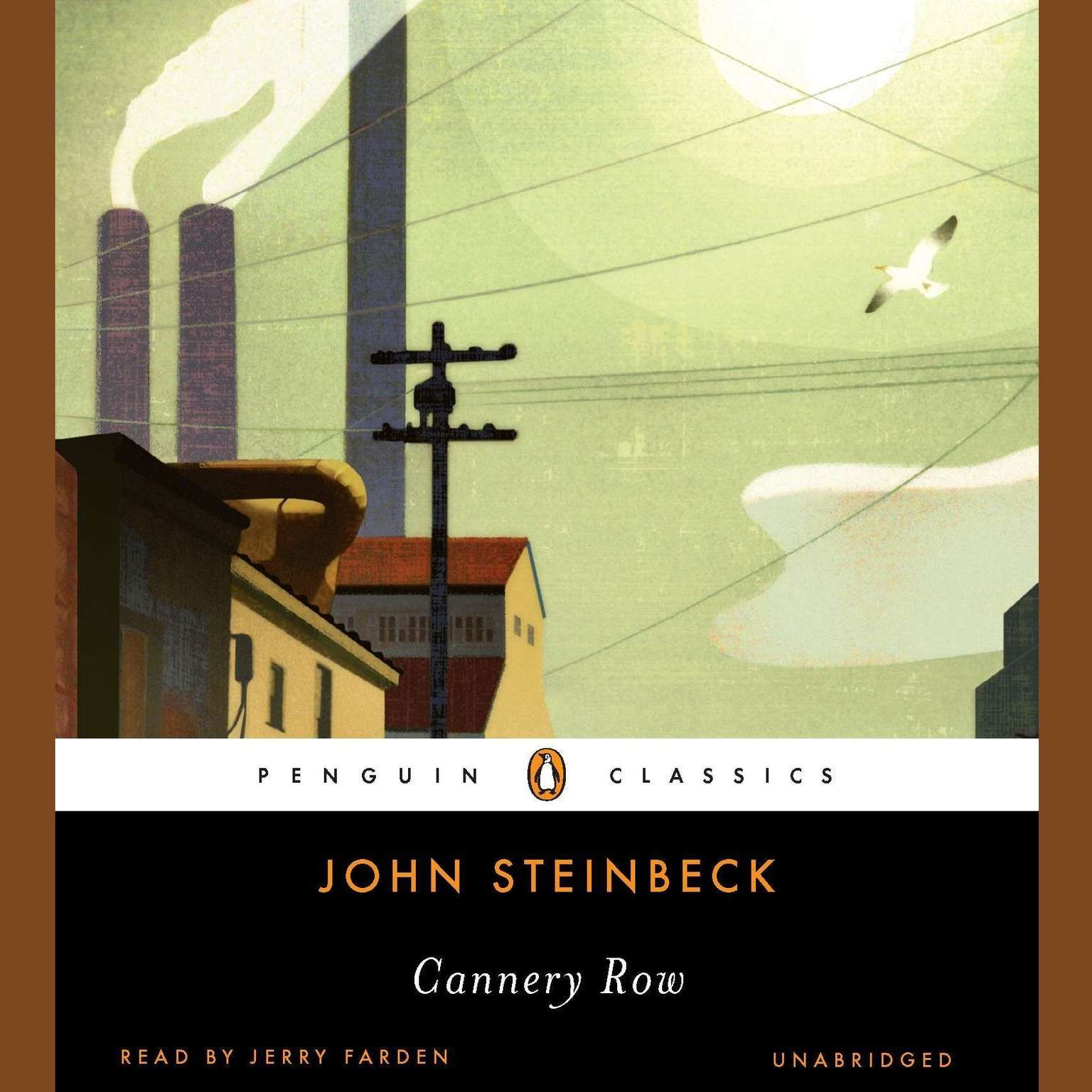 Printable Cannery Row Audiobook Cover Art