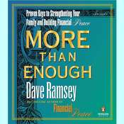 More than Enough: The Ten Keys to Changing Your Financial Destiny Audiobook, by Dave Ramsey