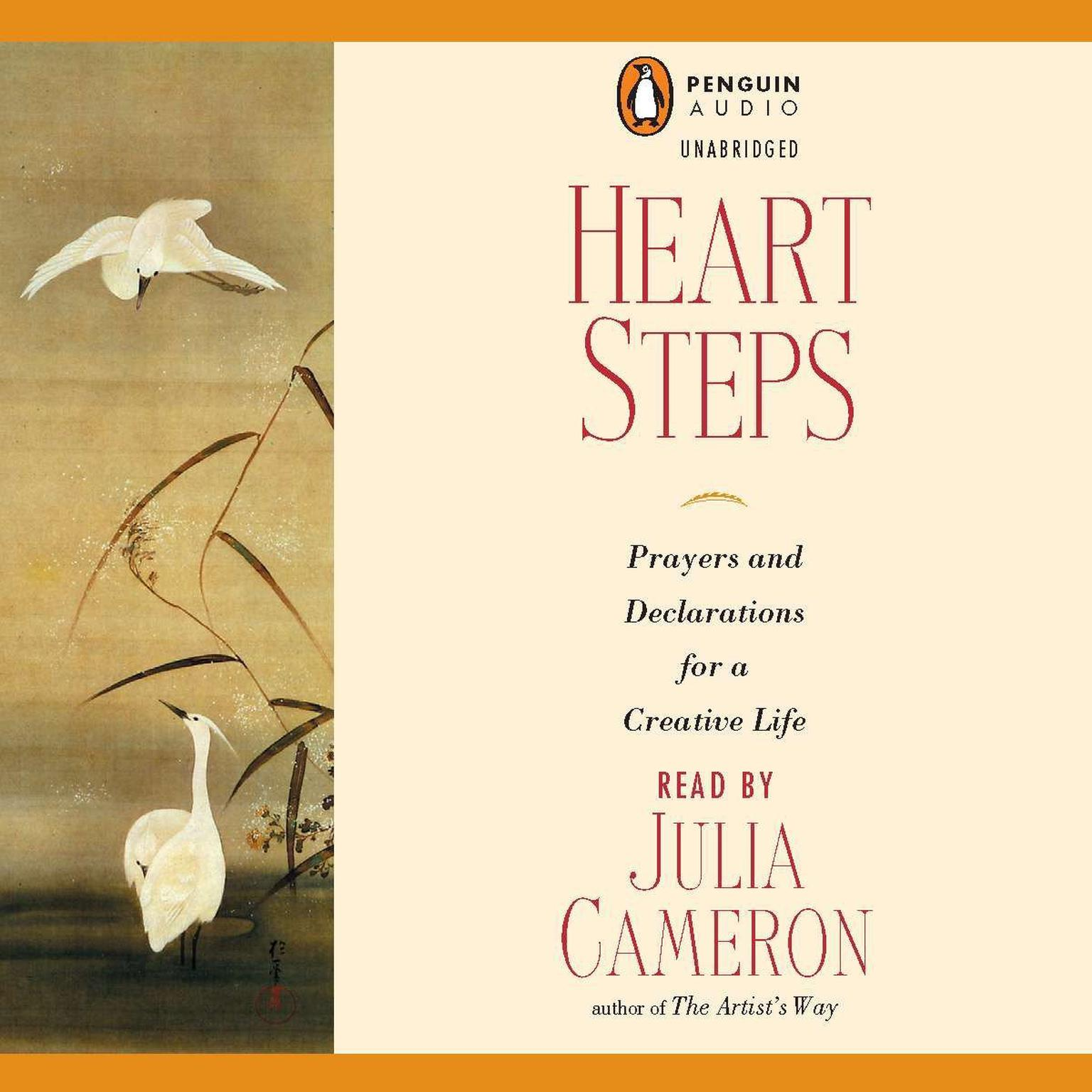 Printable Heart Steps: Prayers and Declarations for a Creative Life Audiobook Cover Art